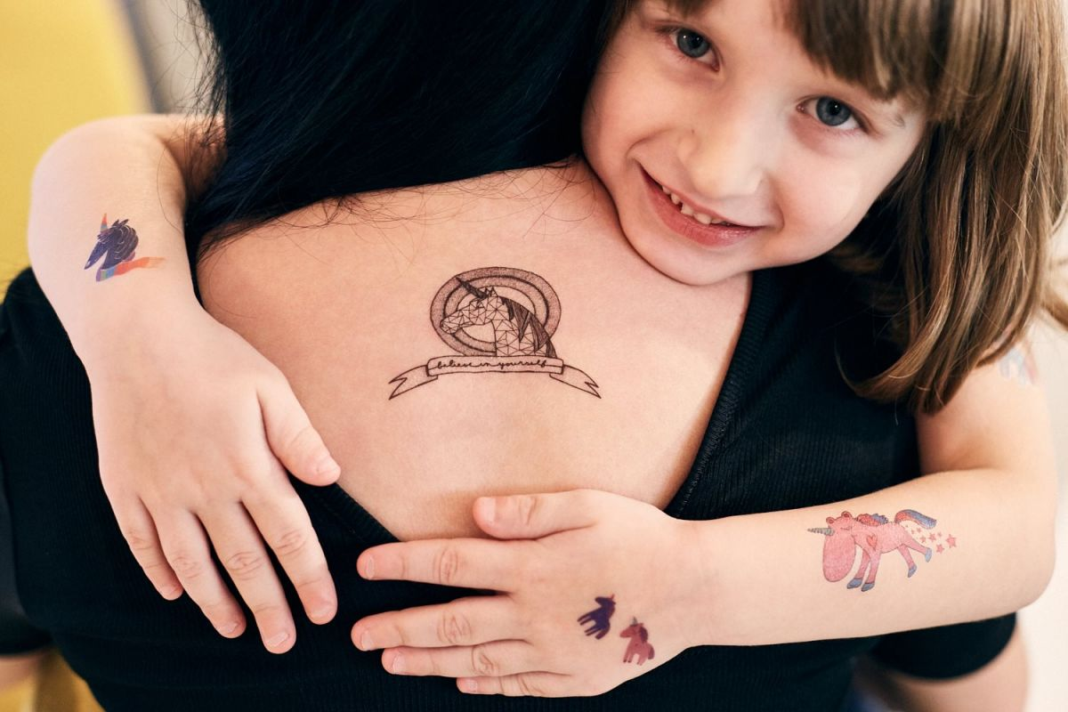 Tetovačky Kresky - jednorožci
