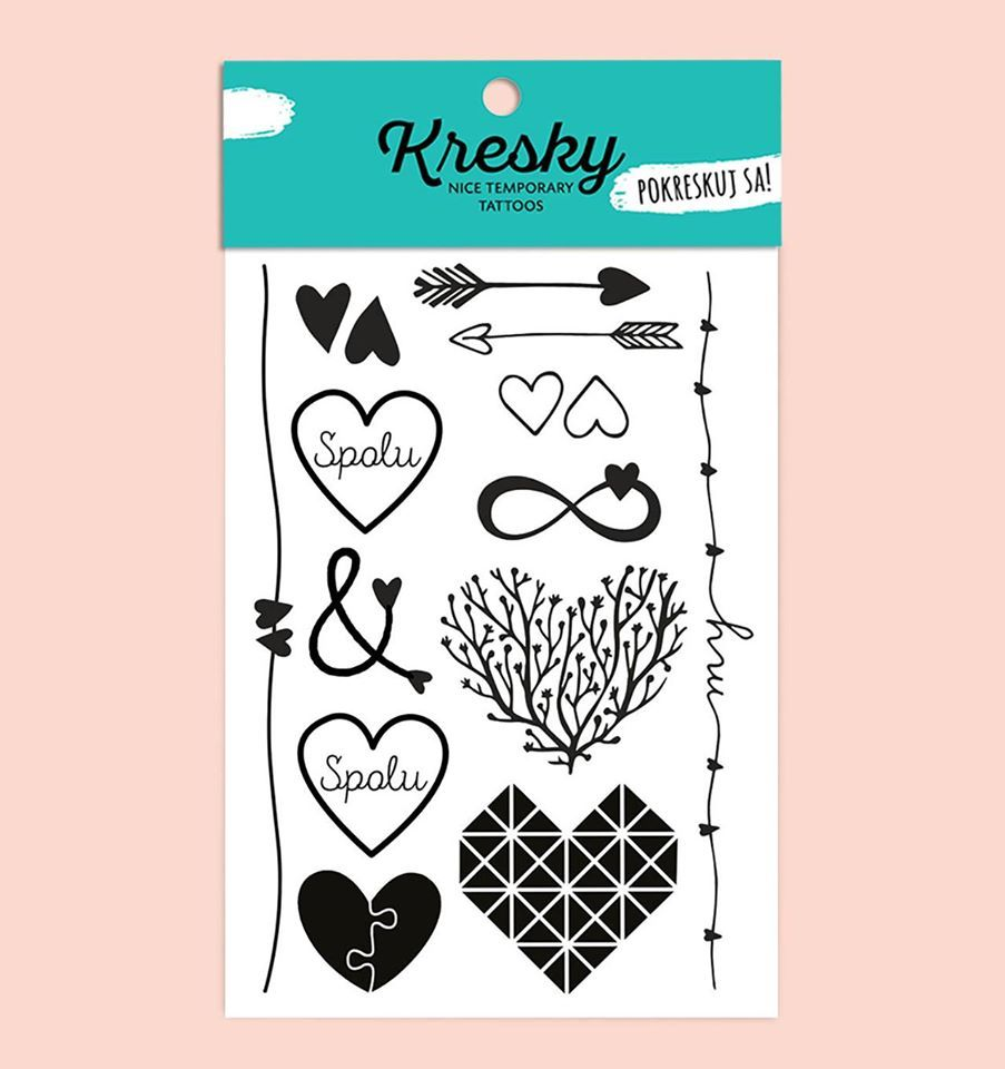 Tetovačky Kresky - Zamilované