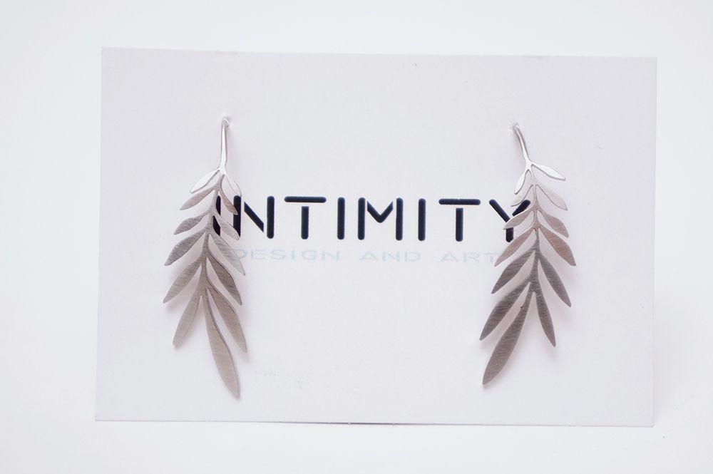 Náušnice Intimity - palmy