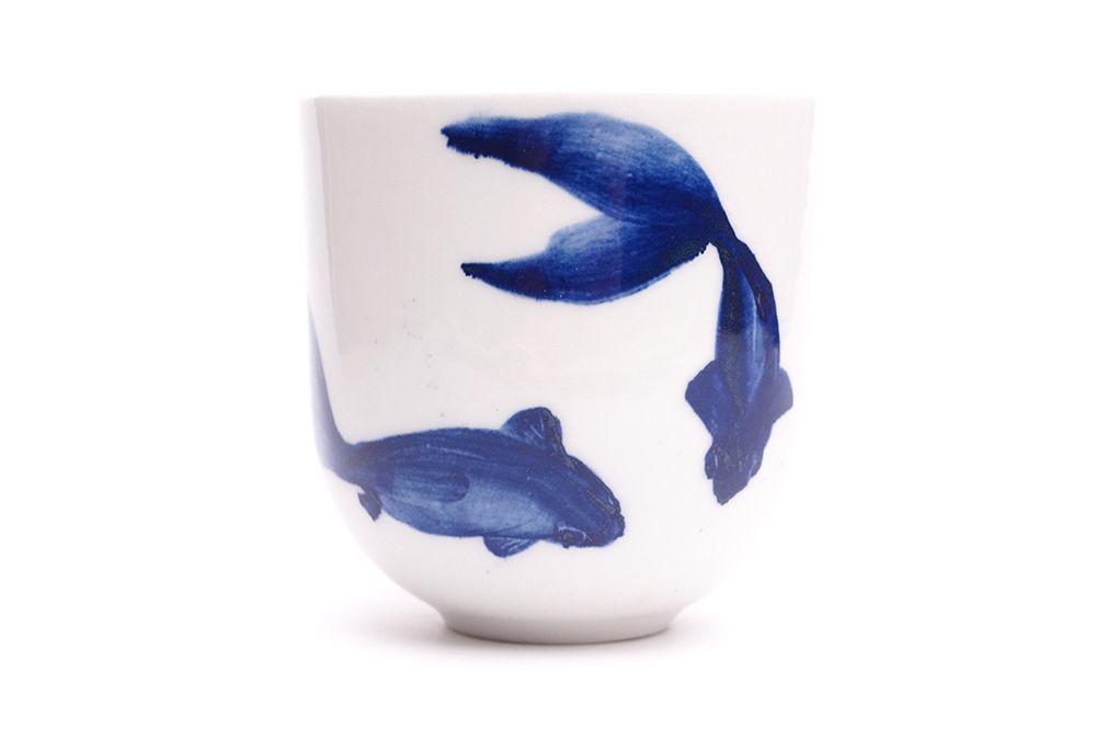 Pohárek 220ml Křak - Modré ryby