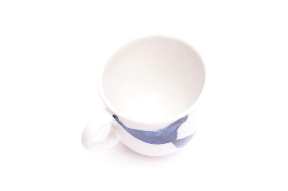 Pohárek Lungo Křak - Modrá závojnatka