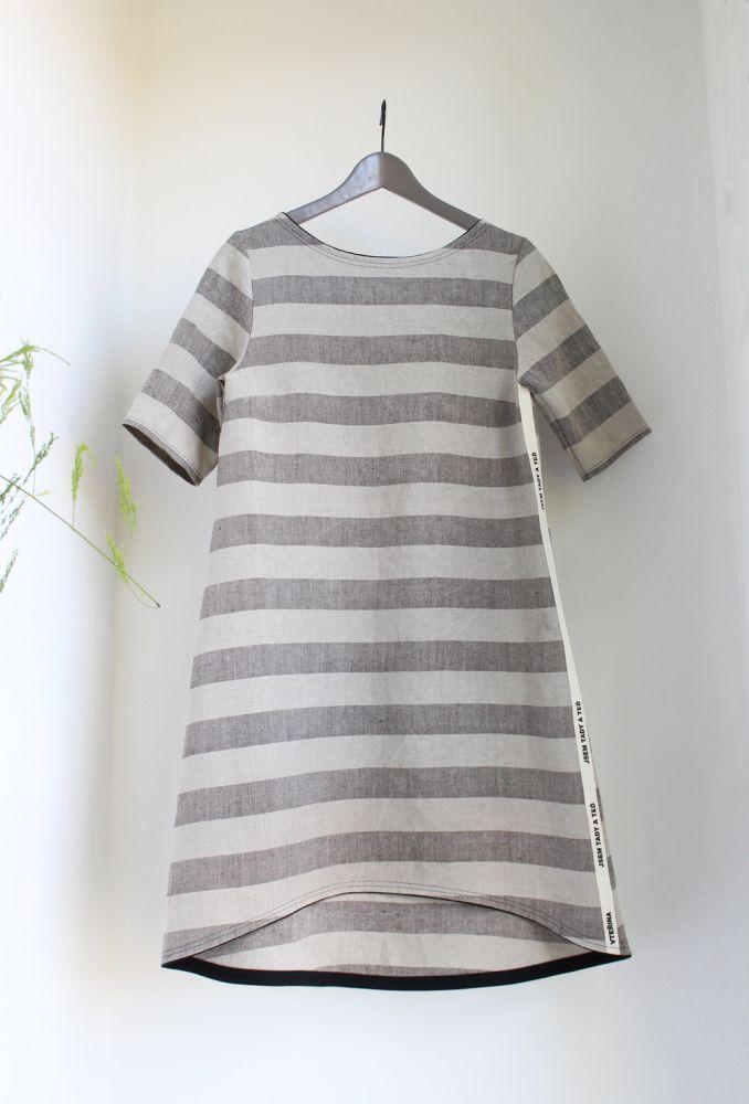 Šaty Verver - Pruhy