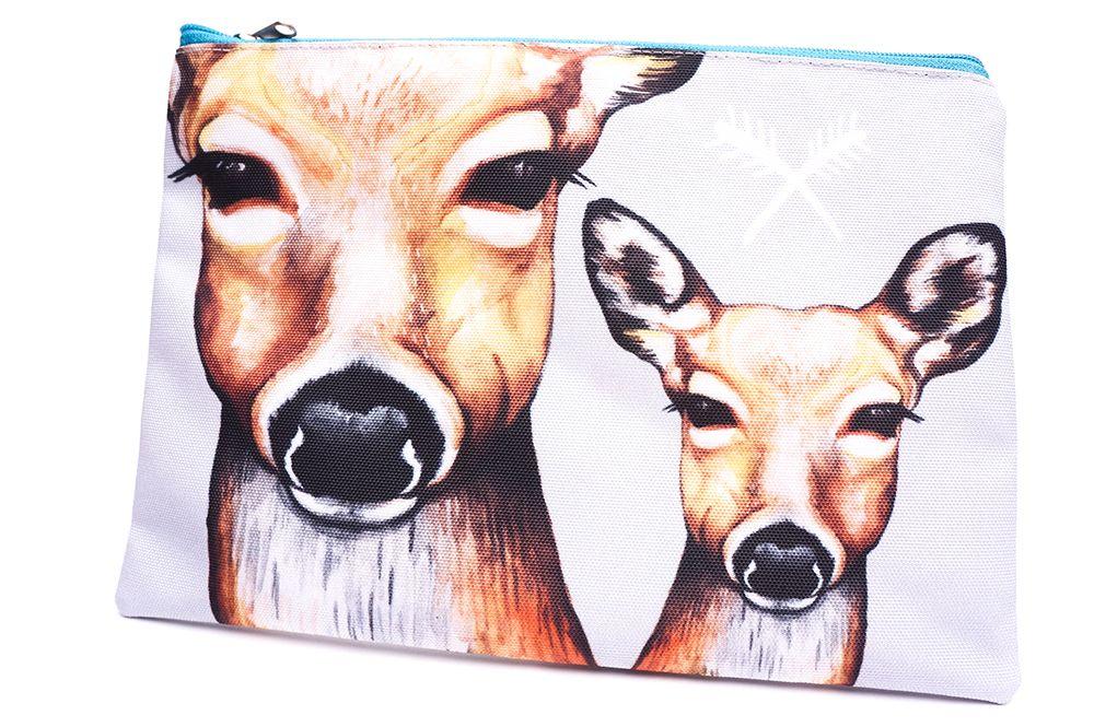 Velká kapsička Hey Wolf - Deer