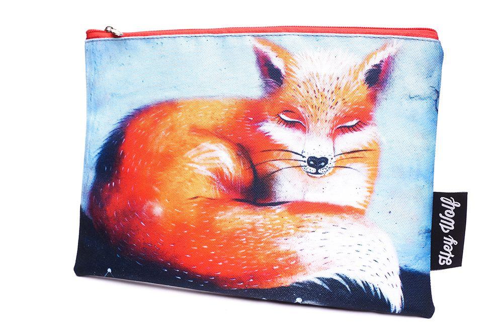 Velká kapsička Hey Wolf - Fox