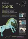 Koník Woodmaid - Modrá