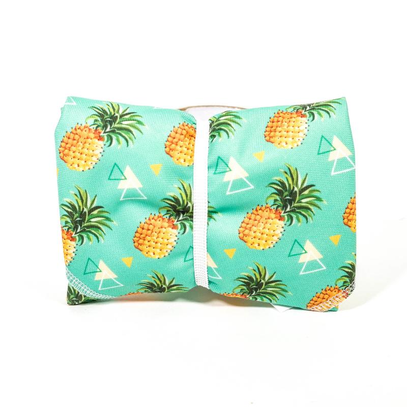 Svačinový ubrousek Green smile - (ananas)