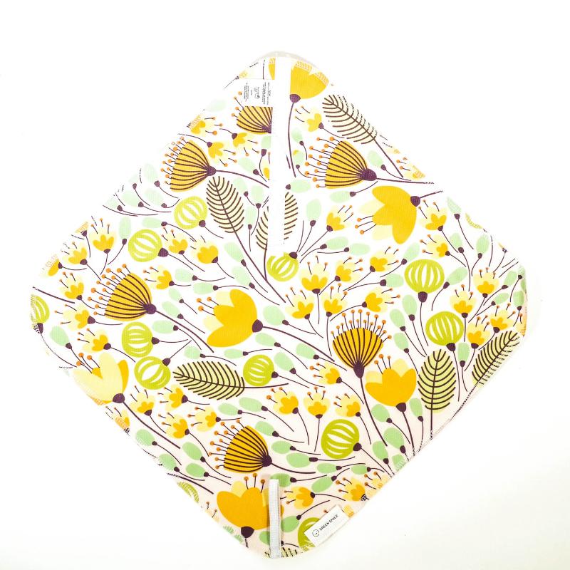 Svačinový ubrousek Green smile - (luční květy)