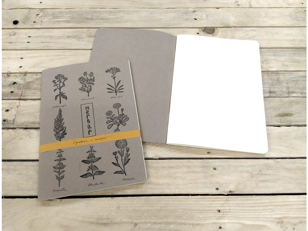 Sešit Lemniskáta - A4 herbář