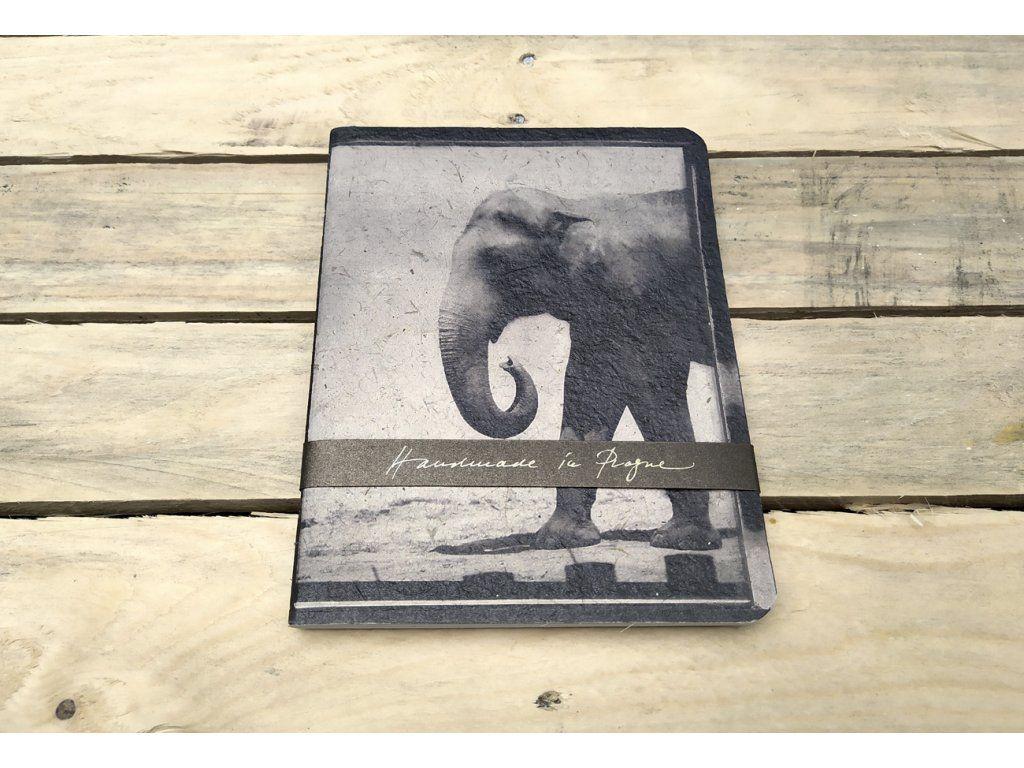 Sešit Lemniskáta - A5 slon (Rob. Vano)