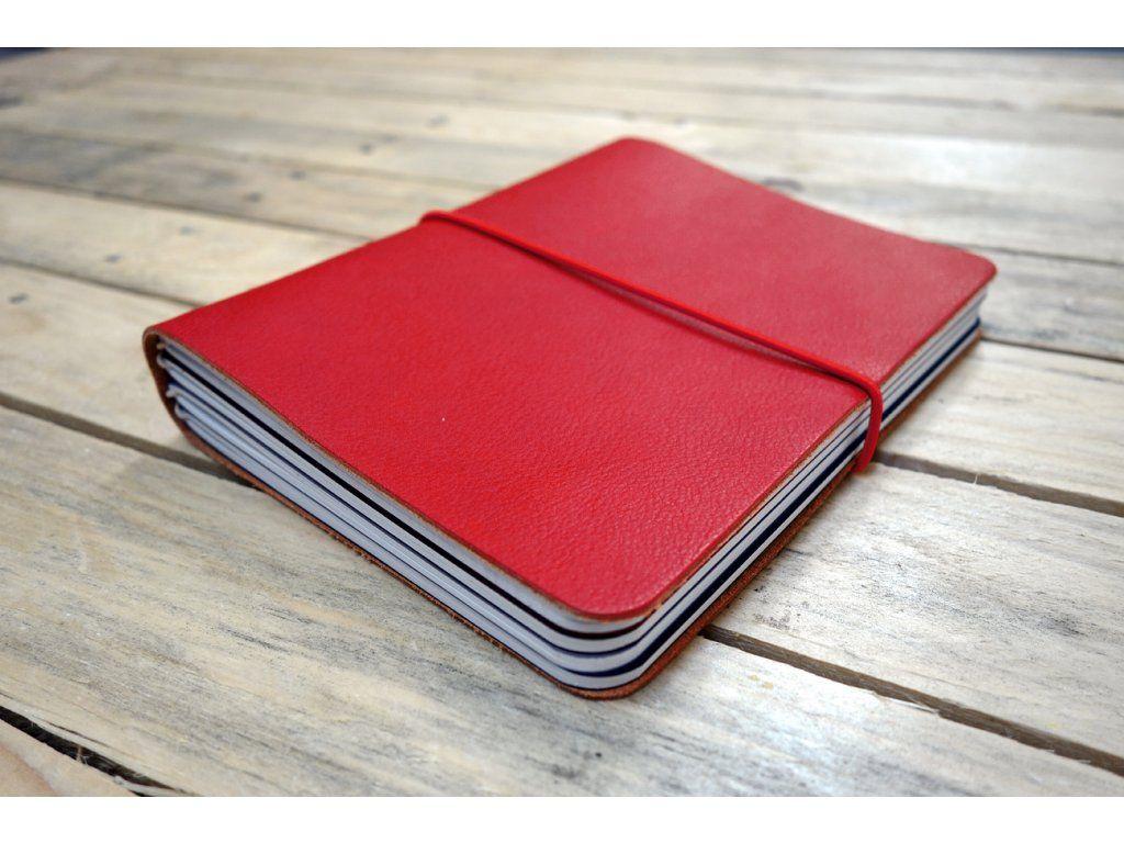 Kreativní deník Lemniskáta - velký KOŽENÝ