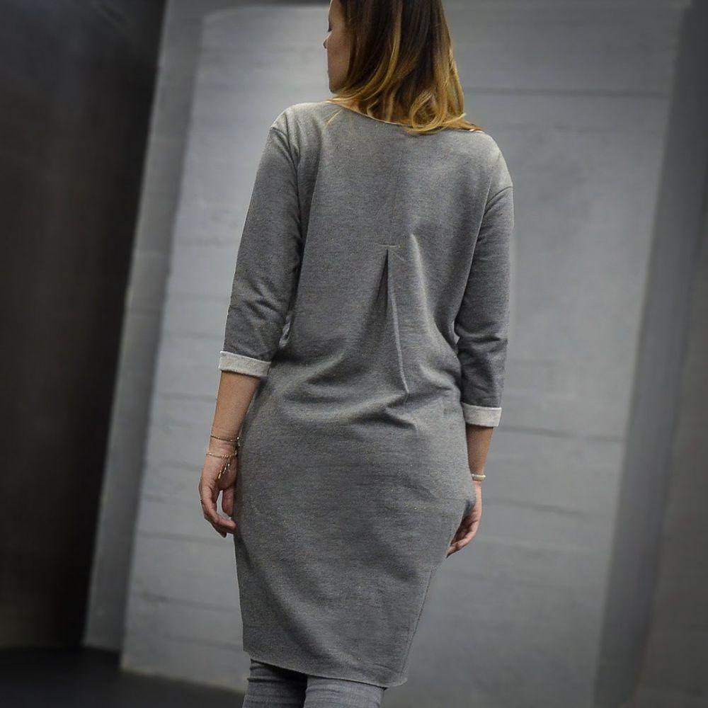 Šaty Adelaube - WINT, šedé