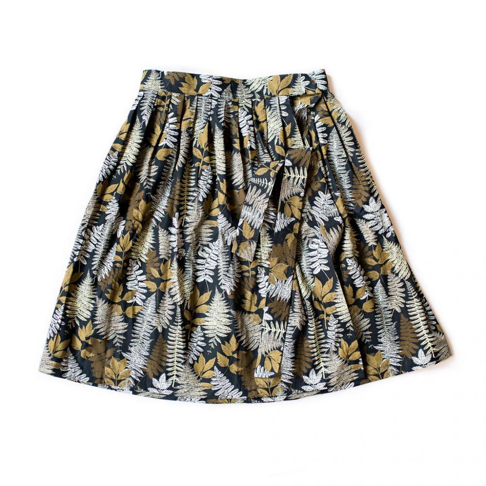 Zavinovací sukně Reparáda - KAPRADÍ