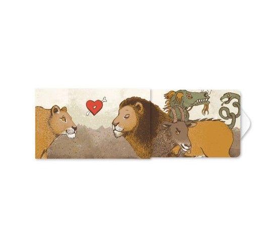 Žvýkačky Charity gums - Zamilovaní lvi