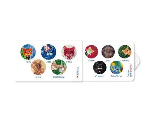 Žvýkačky Charity gums - Kočky hudebnice