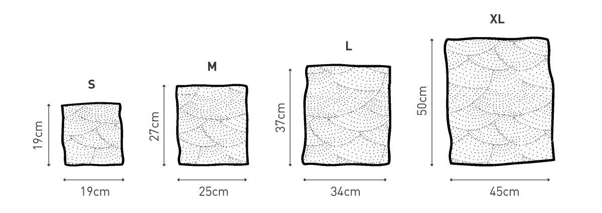 Voskovaný ubrousek Včelobal - M přrodní
