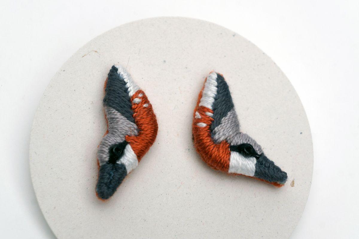 Náušnice Atropa - Brhlík lesní