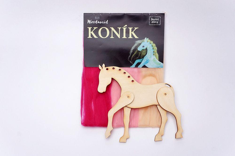 Koník Woodmaid - Růžová