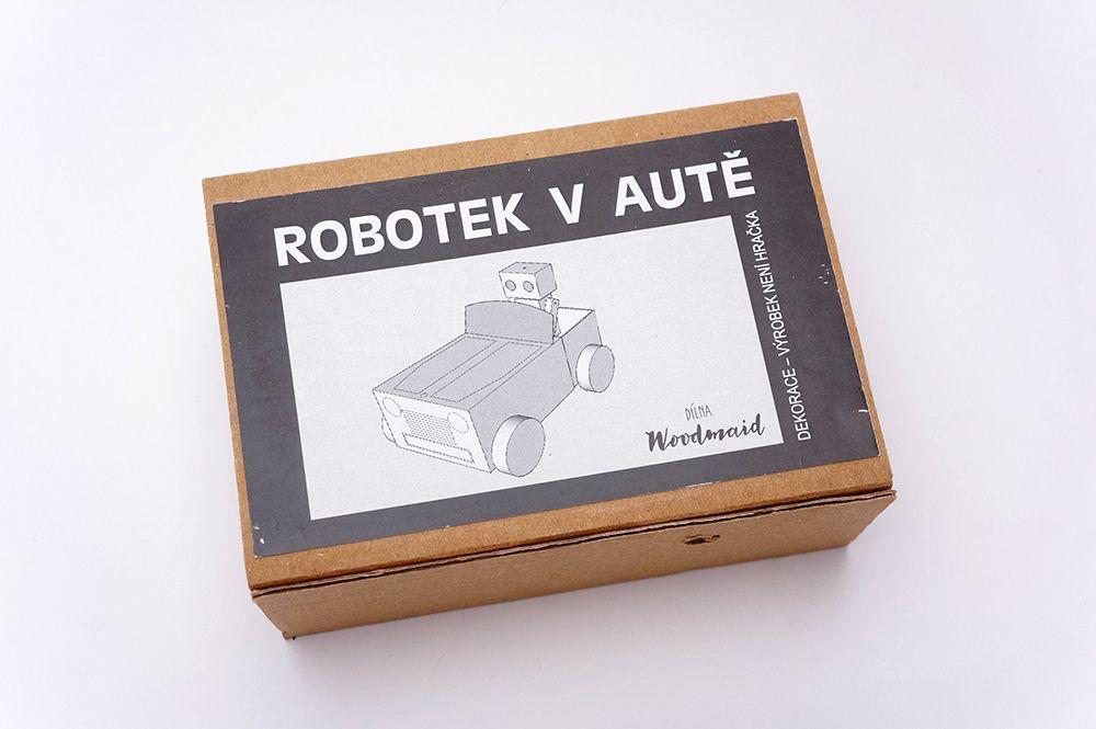 Robotek v autě Woodmaid