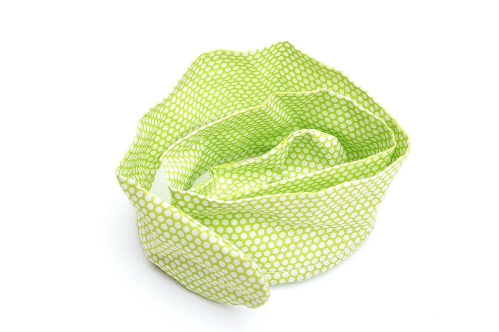 Čelenka Grešáková - Zelené puntíky