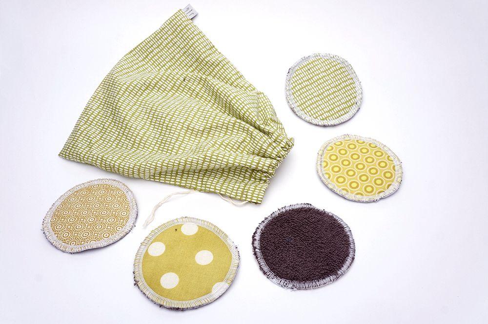 Odličovací tamponky Grešáková - zelené