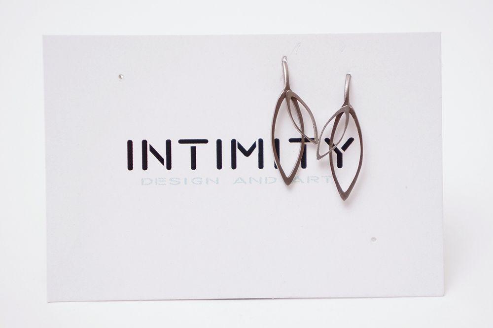 Náušnice Intimity - visací list