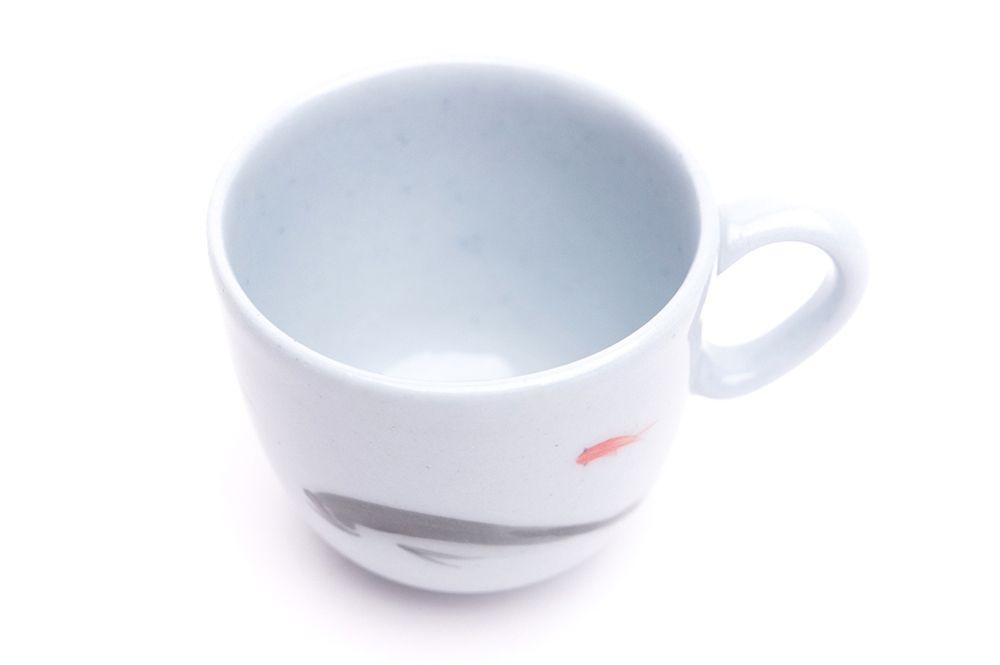 Pohárek Espresso Křak - Rybičky na modrém