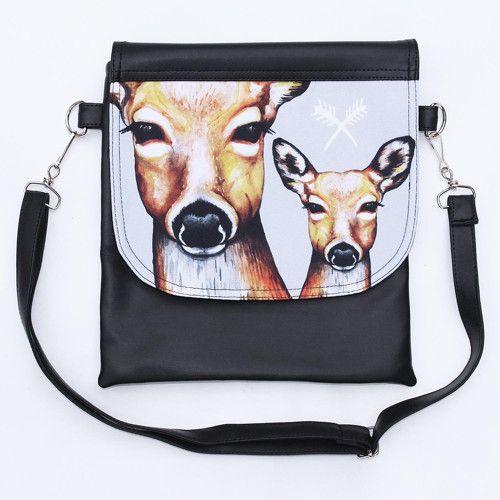 Malá kabelka Hey wolf - Deer