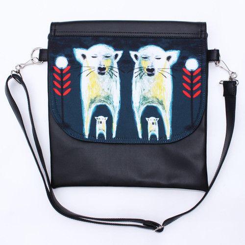 Malá kabelka Hey wolf - Dogbear