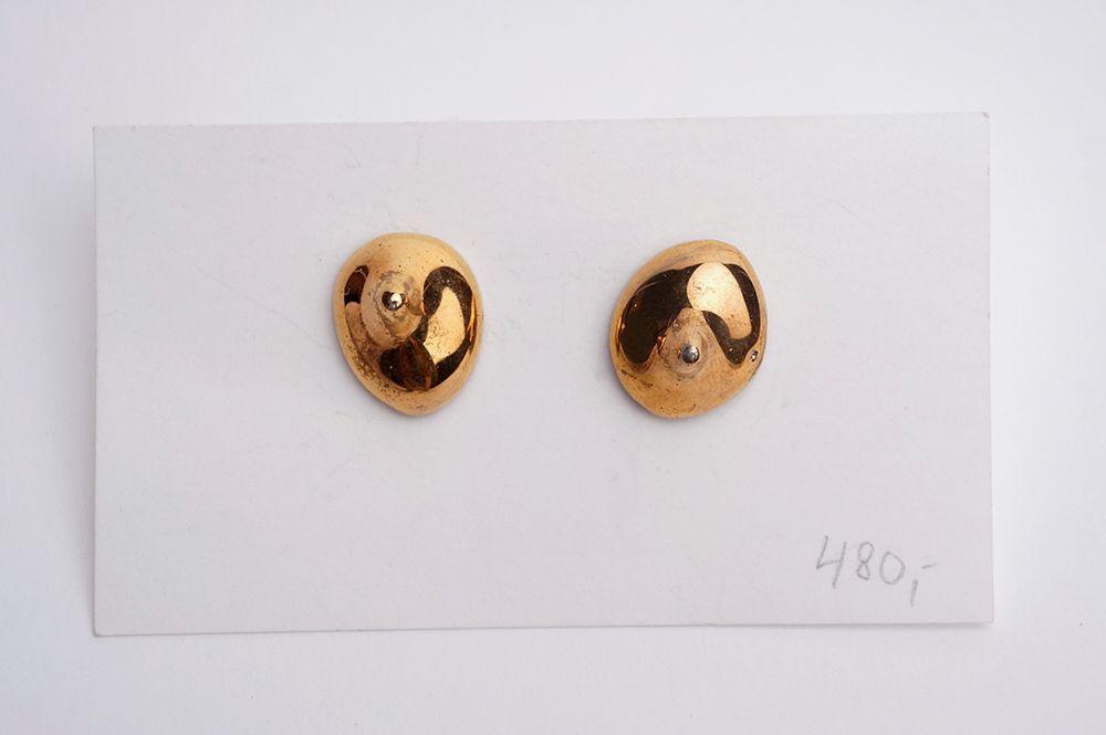 Náušnice MH - Zlaté kapky