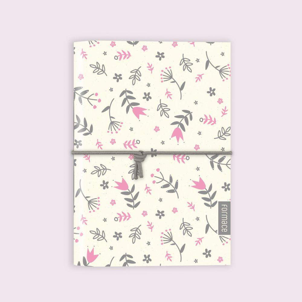 Zápisník Formace - Růžové kytky