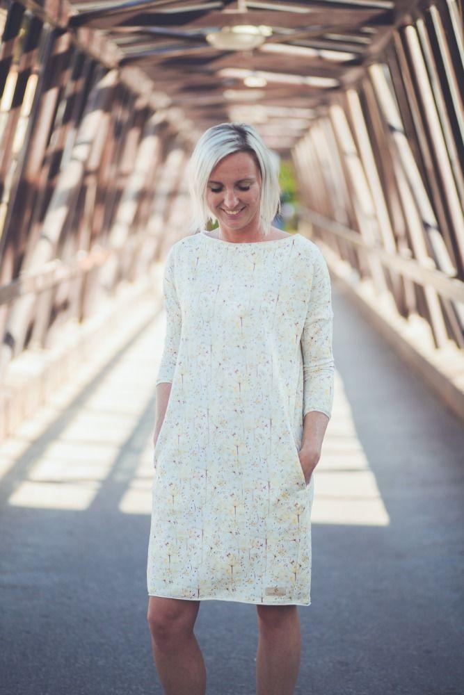 Šaty Bambulich - podzimní krémové