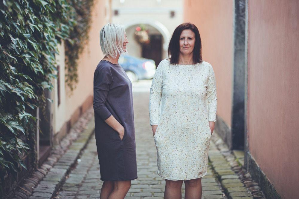 Šaty Bambulich - podzimní šedé