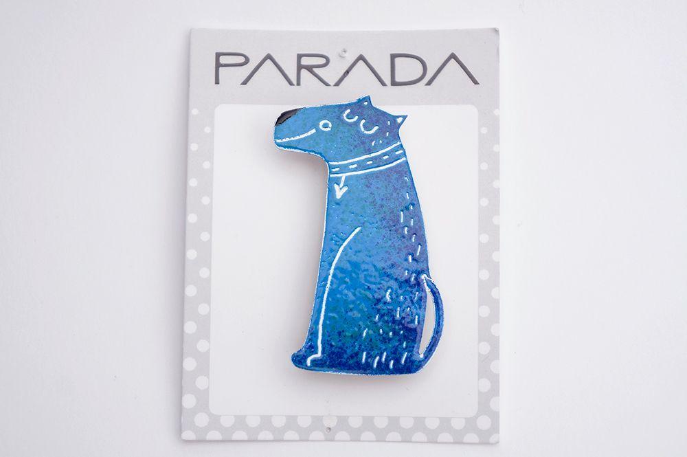 Brož Parada - sedící pes