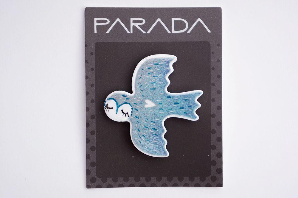 Brož Parada - letící pták