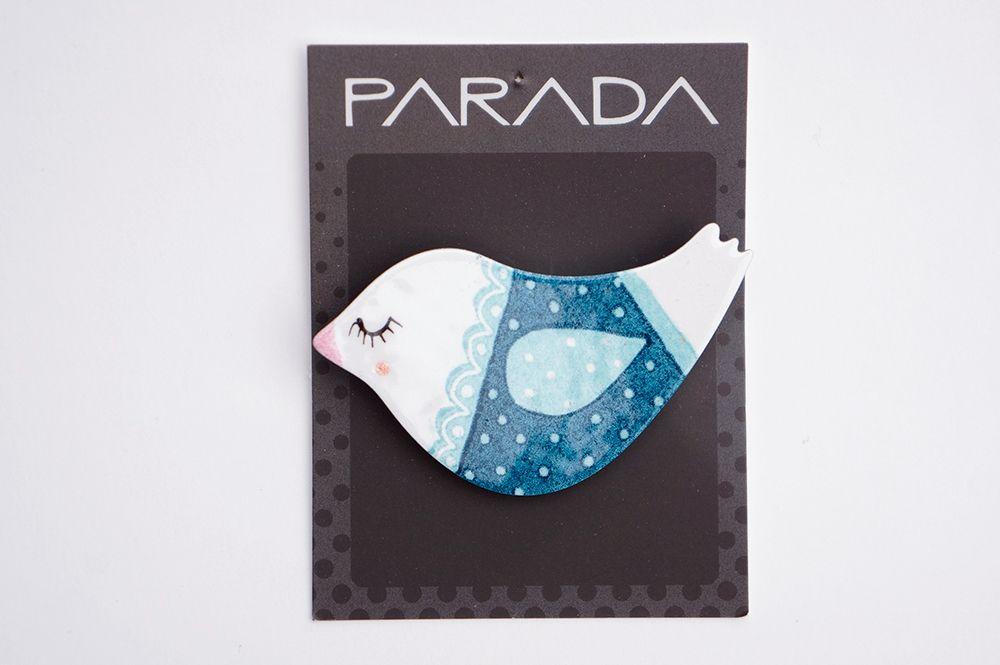 Brož Parada - holubice v kabátku
