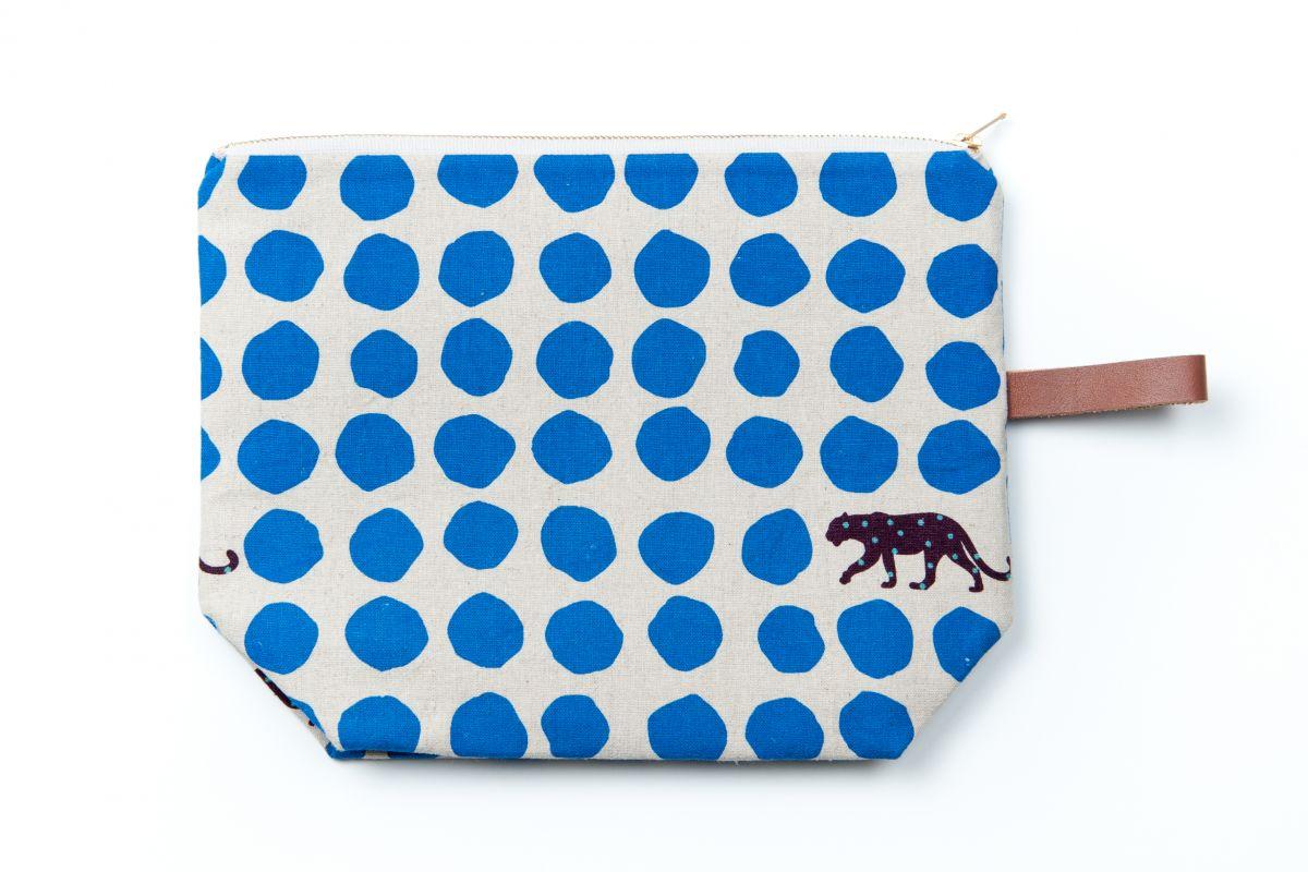 Taštička Ben Marco - velká - modrý gepard