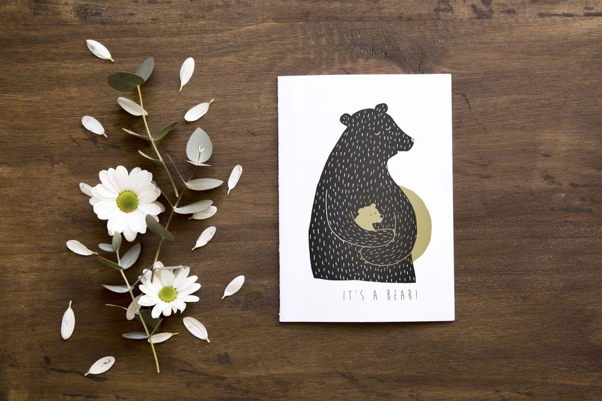 Přání Z lesa - Je to medvěd!