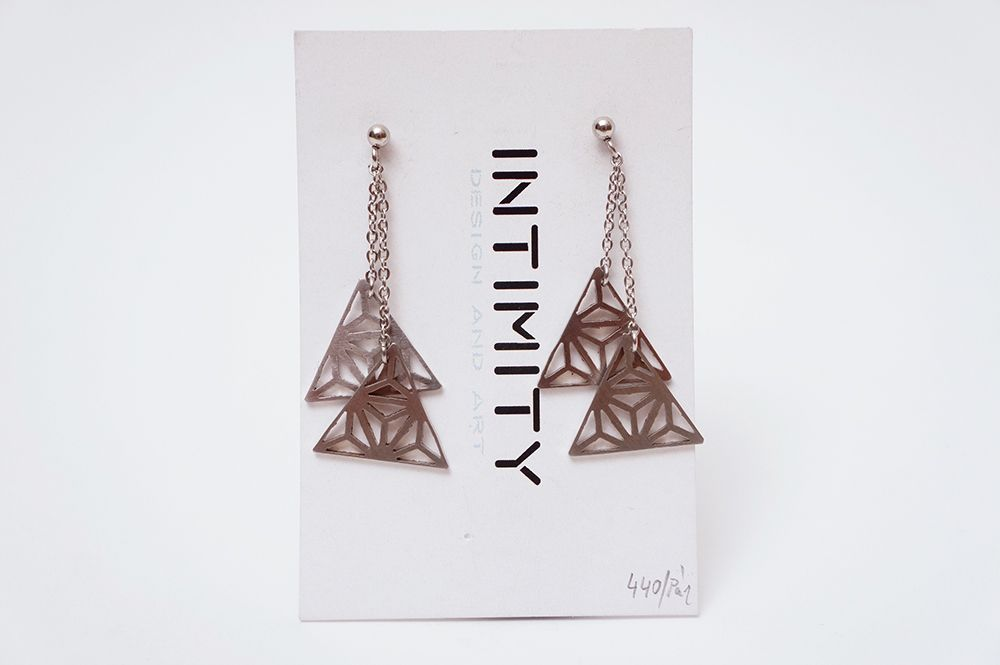 Náušnice Intimity - triangle