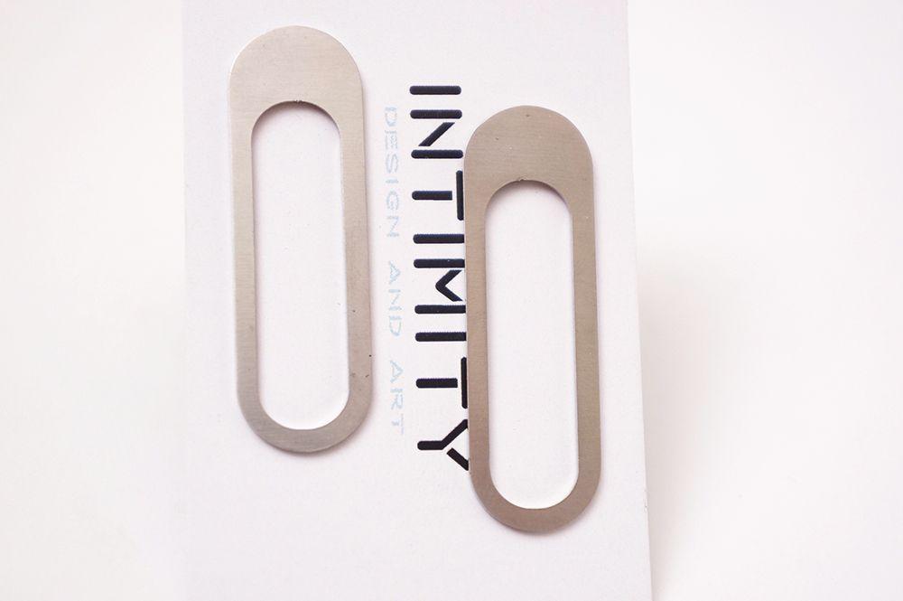 Náušnice Intimity - ovál