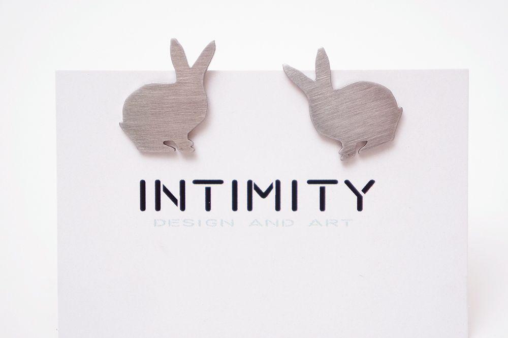 Náušnice Intimity - králík