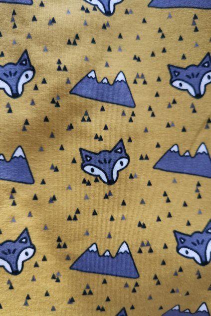 Sukně Sluší ti to - Vlci a hory