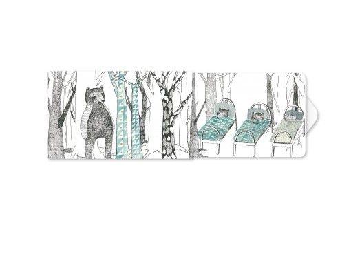 Žvýkačky Charity gums - Medvědi v zimě
