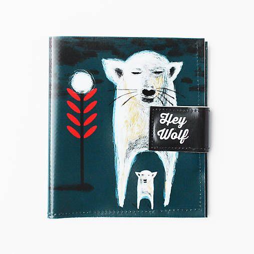 Peněženka Hey wolf - Dogbear