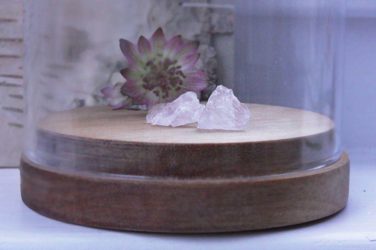 Náušnice Kvas.ek - minerál