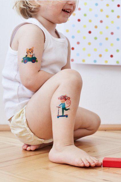 Tetovačky Kresky - dětské