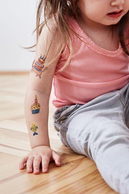 Tetovačky Kresky - dětská oslava